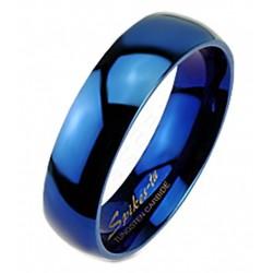 Kék Volfrámacél Wolfram Karikagyűrű