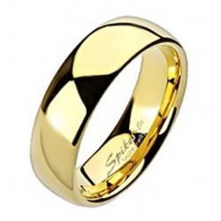 Aranyozott Volfrámacél Karikagyűrű