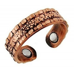Állítható Mágneses Rézgyűrű Mintázott