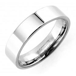 Wolframacél Tükörfényes Karikagyűrű