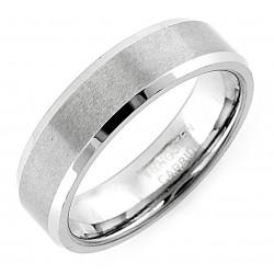 Matt Wolframacél Karikagyűrű