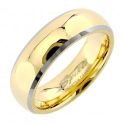 Arany Színű Wolframacél Karikagyűrű