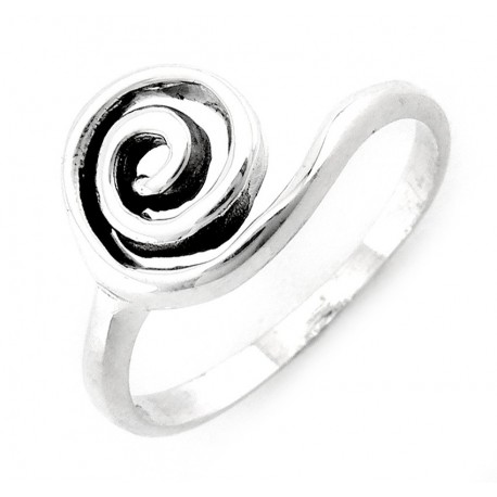 Ezüst Csavart Gyűrű
