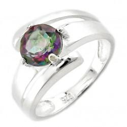 Ezüst Gyűrű Misztikus Topázzal